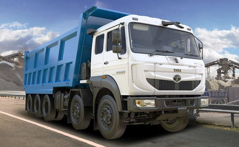 The Tata Signa 4825.TK is India's largest tipper truck and is designed for surface transport applications