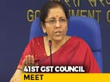Video : GST Council To Conduct 41st Meeting
