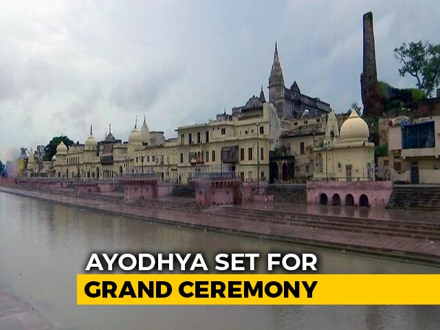 Video : Grand Ceremony For Ayodhya Ram Temple Today, PM To Attend