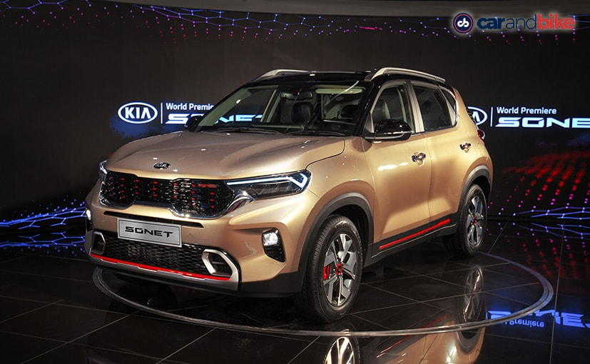 The Kia Sonet will be launched in India in September 2020.