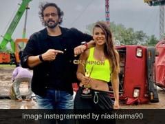 Nia Sharma ने जीता 'खतरों के खिलाड़ी मेड इन इंडिया' का खिताब, खतरनाक स्टंट कर किया सबको हैरान- देखें Photos