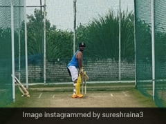 Suresh Raina Shares Video From His Net Session As He Gets Ready For IPL. Watch