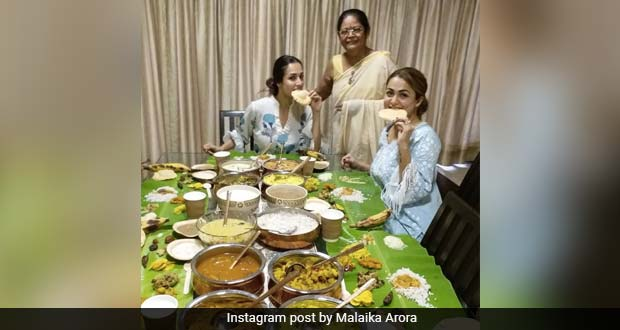 Malaika Arora's Onam Feast Was All Things Lavish And Delicious, Courtesy Her Mother