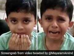 बेटे से मां बोली- 'दुआ करो 15 तारीख से स्कूल खुल जाएं...', सुनते ही फूट-फूटकर रोने लगा बच्चा - देखें Viral Video