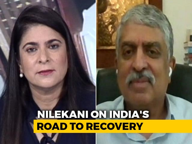 "Video : ""India, The Vaccine Capital"": Nandan Nilekani On India's Road To Recovery"