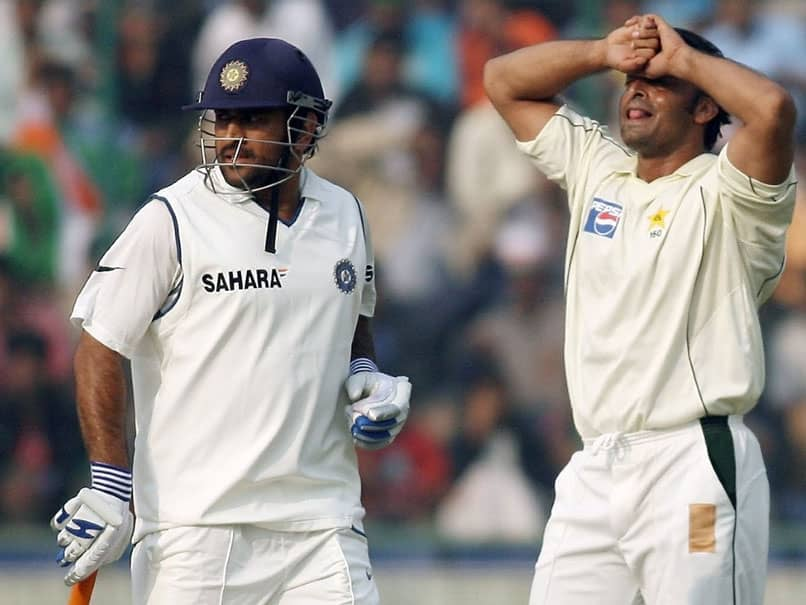 "MS Dhoni Frustrated Shoaib Akhtar Into Bowling ""Intentional Beamer"""