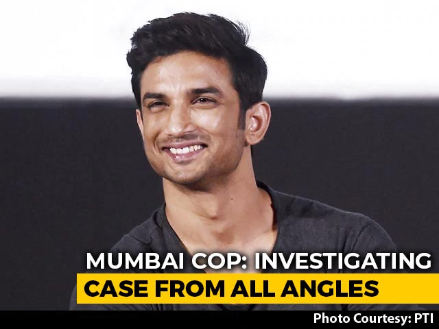 Video : Sushant Singh Rajput Had Googled His Name Hours Before Death: Mumbai Cops