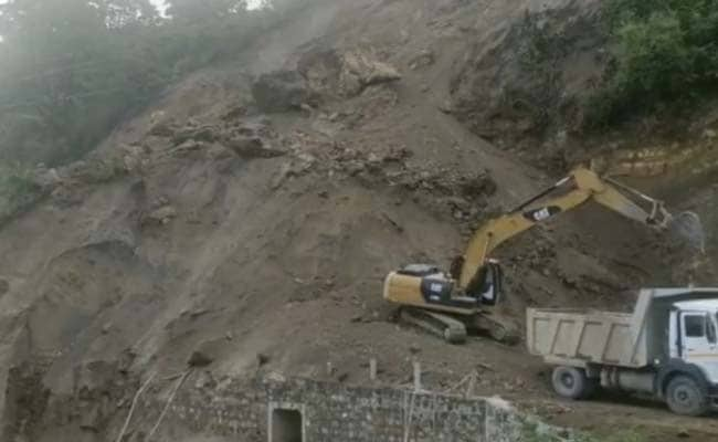 Landslides Block Roads, Flash Flood Alert In J&K, Uttarakhand