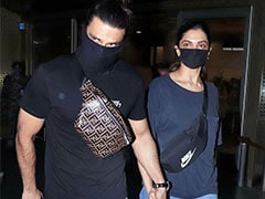 The Return Of Deepika Padukone And Ranveer Singh's Airport Looks. See Trending Pics