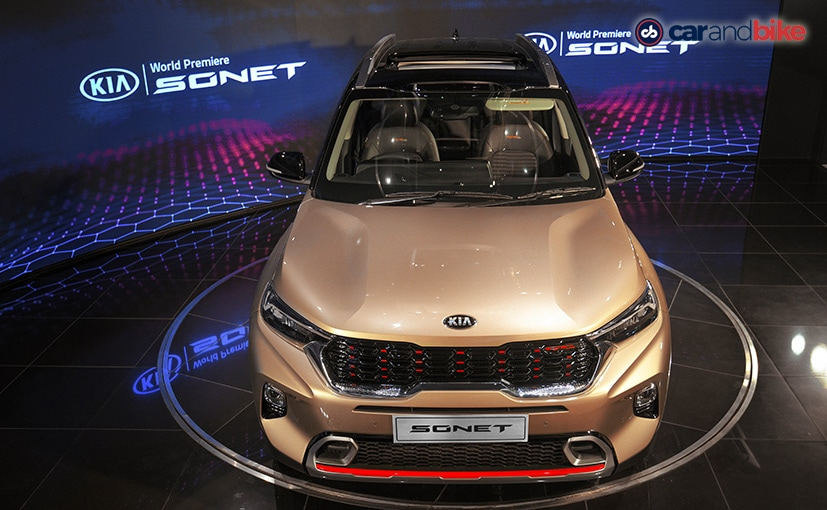 The all-new Kia Sonet subcompact SUV is slated to be launched in India in September 2020