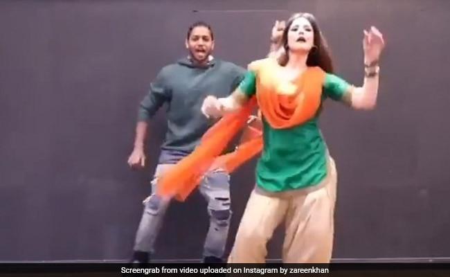 Zareen Khan Dance On Lagdi Lahore Di Actress Looks Winning Heart In Patiala Suit Video Viral – जरीन खान ने लगदी लाहौर दी आ पर किया धमाकेदार डांस, पटियाला सूट में एक्ट्रेस ने मचाया धमाल