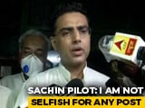 "Video : ""Issues Were Ideological, Was Important To Raise Them,"" Says Sachin Pilot"