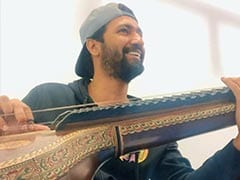 Trending: Another Day, Another Video Of Vicky Kaushal Playing Veena