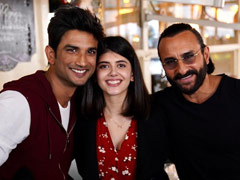 <i>Dil Bechara</i> Actress Sanjana Sanghi Wrote Her College Thesis On This Film Of Saif Ali Khan