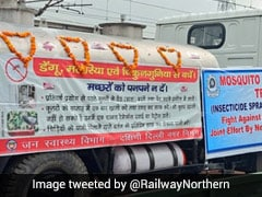 'Mosquito Terminator' Train Flagged Off, To Spray Insecticide In Delhi