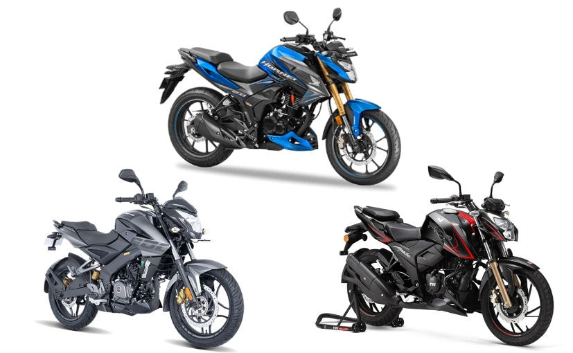 The Honda Hornet is the most affordable bike in this comparison but also the least powerful