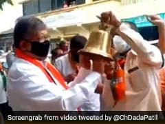 Maharashtra BJP Protests For Reopening Of Religious Places In State