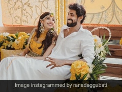 राणा दग्गुबाती और मिहिका बजाज की हल्दी सेरेमनी का Video हुआ वायरल, 8 अगस्त को होगी शादी
