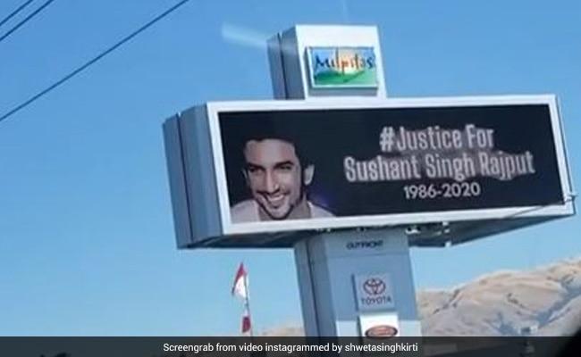 सुशांत सिंह राजपूत केस को लेकर दुनियाभर में लगाई जा रही इंसाफ की गुहार, अमेरिका में दिखे #JusticeForSSR के बोर्ड