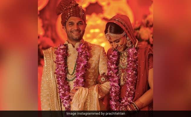 Viral: Pics From Diya Aur Baati Hum Actress Prachi Tehlan And Rohit Saroha's Wedding