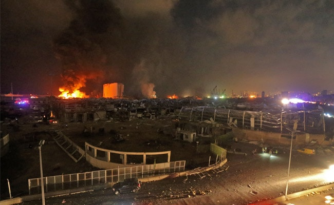 2,750 Tonnes Of Ammonium Nitrate Exploded: Lebanon PM On Beirut Blasts