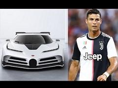Cristiano Ronaldo Gifts Himself A Bugatti Centodieci Worth £8.5 Million