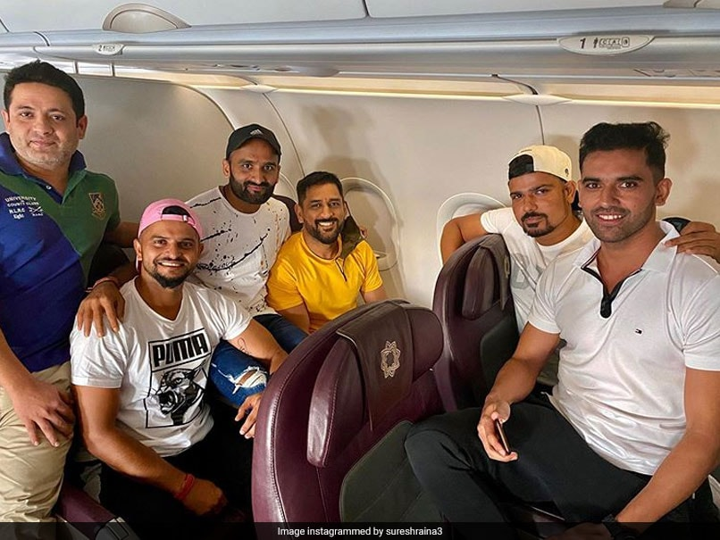 Sakshi Reacts As MS Dhoni Joins Other CSK Stars Ahead Of IPL 2020 | Cricket News - NDTV Sports
