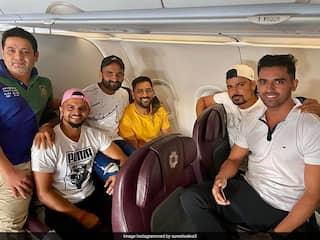 """Reunited"": Sakshi Reacts As MS Dhoni Joins Other CSK Stars Ahead Of IPL 2020"