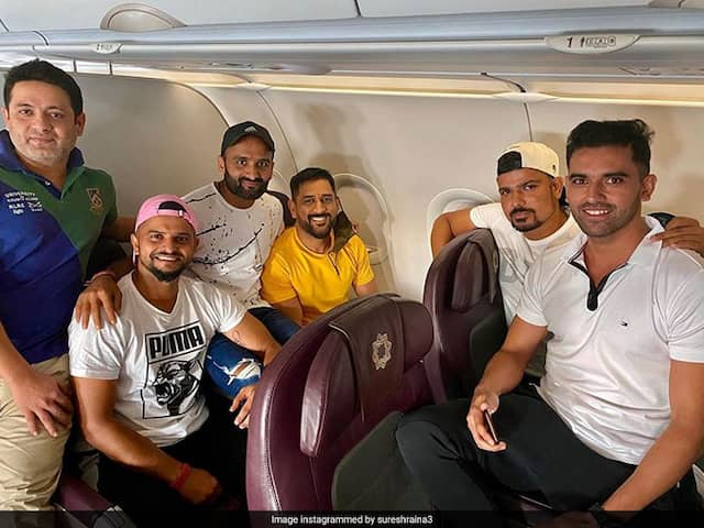 """""""Reunited"""": Sakshi Reacts As MS Dhoni Joins Other CSK Stars Ahead Of IPL 2020"""