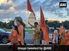 Indian-Americans Celebrate Ram Temple Foundation Stone Laying Ceremony