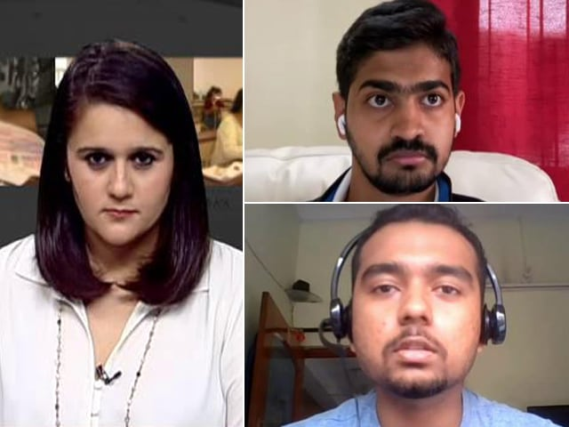 Video : Exams In A Pandemic: JEE, NEET Aspirants Speak To NDTV