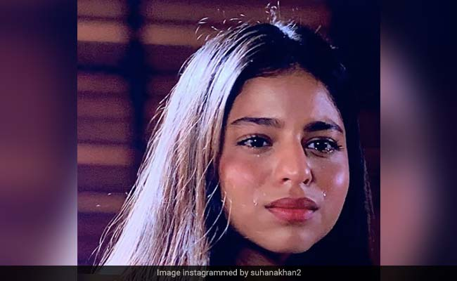 Suhana Khan Shares Pics Of Her Teary Self From