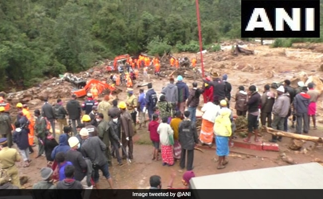 26 Dead In Kerala Due To Landslides, Red Alert Issued For 3 Districts