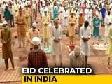 Video : Eid Al-Adha: Muted Bakrid Festivities, Social Distance At Jama Masjid