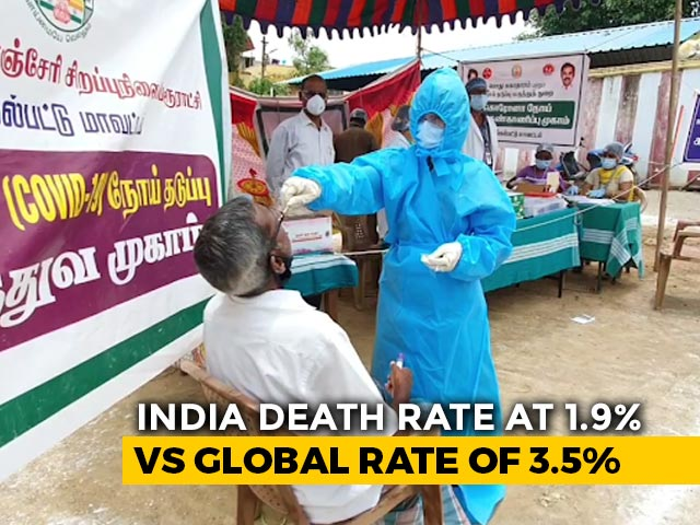 Video : Top News Of The Day: India's Coronavirus Positivity Rate Drops