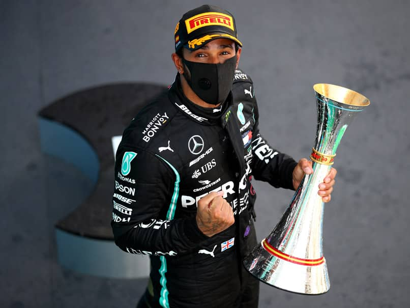 Lewis Hamilton Breaks Michael Schumachers Record With Spanish Grand Prix Win