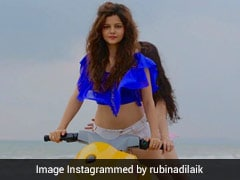 टीवी एक्ट्रेस Rubina Dilaik समुंदर में यूं इंजॉय करती दिखीं, Photo हुई वायरल
