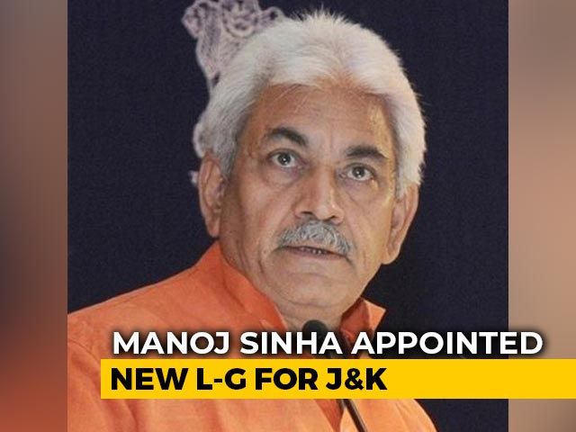 Video : Manoj Sinha Appointed J&K Lieutenant Governor After GC Murmu Resigns