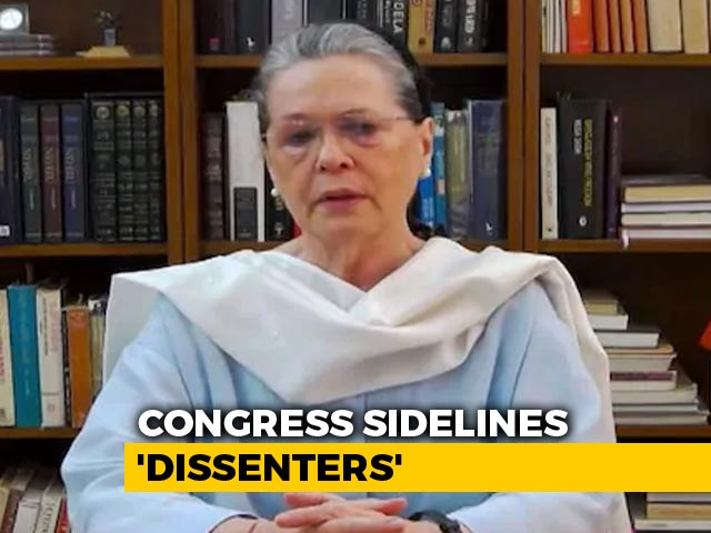 Video: Sonia Gandhi Takes Big Decisions On Appointments That Sideline Dissenters