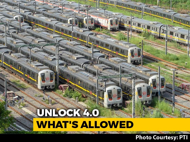 Video : Unlock4: Metros Can Resume, No Lockdowns Outside Containment Zones