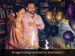 How Kareena Kapoor Khan Made Saif Ali Khan's 50th Birthday Special; The Cakes Are Unmissable
