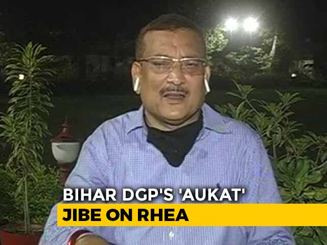 Video: Not Correct For A Prime Accused to Make Statements About the Chief Minister: Bihar Police Chief