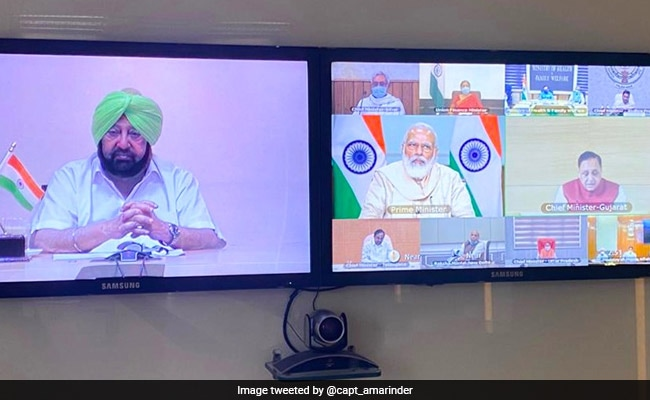 At PM's Meet, Punjab Chief Minister Amarinder Singh Seeks Fiscal Package