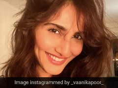 Vaani Kapoor Kicked Off Her Red Letter Day In A Pretty Red Dress
