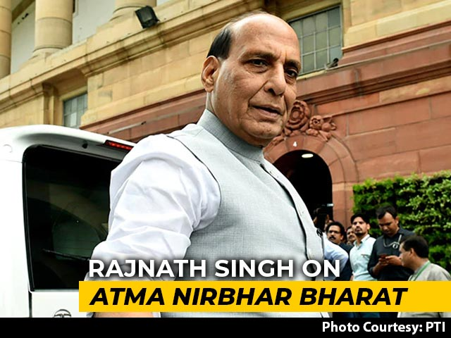 Video : Ban On 101 Defence Items Imports In Push For Self-Reliance: Rajnath Singh