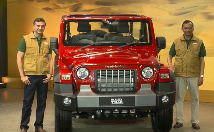 2020 Mahindra Thar Unveiled; Launch In October - carandbike