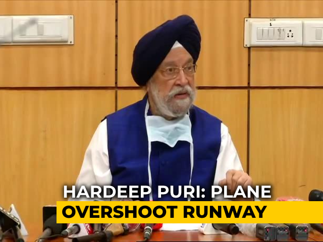 "Video : ""There Was Fuel..."": Aviation Minister On Air India Express Plane Crash"