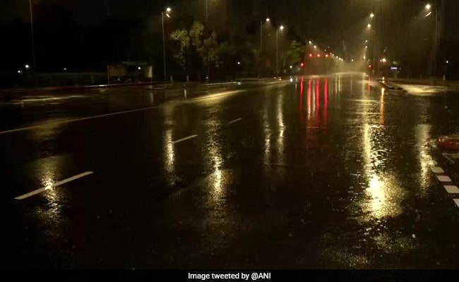 Light To Moderate Rains Bring Relief From Sultry Weather In Delhi