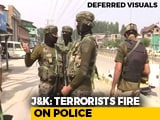 Video : 2 Cops Killed As Terrorists Fire At Police Team On Outskirts Of Srinagar