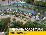 Video : Heavy Rain Batters Gurgaon, Smart City Waterlogged